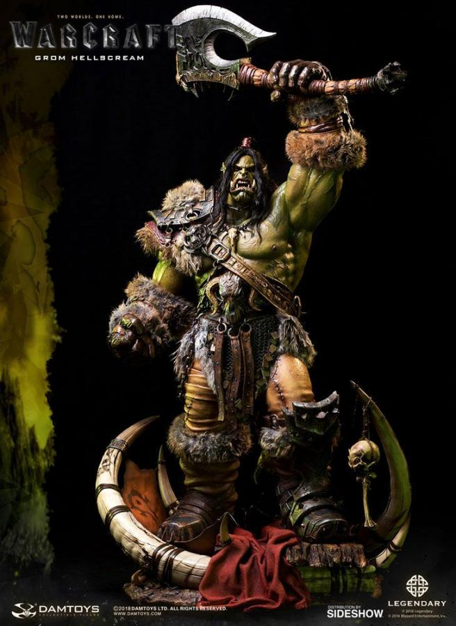 Warcraft Epic Series Premium Statue Grom Hellscream Version 2 87 cm