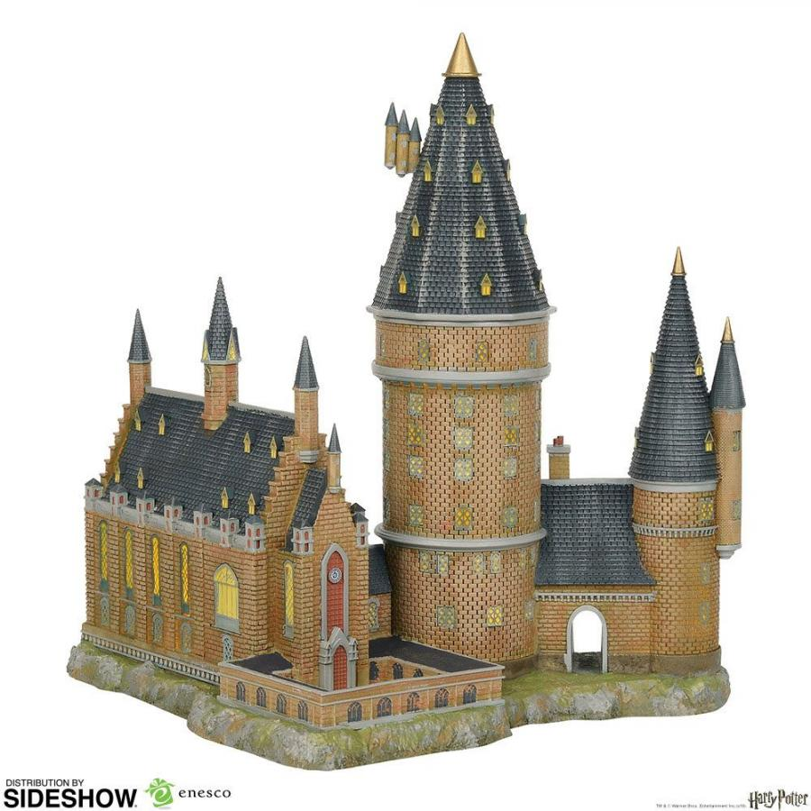 Harry Potter Statue Hogwarts Great Hall & Tower 33 cm