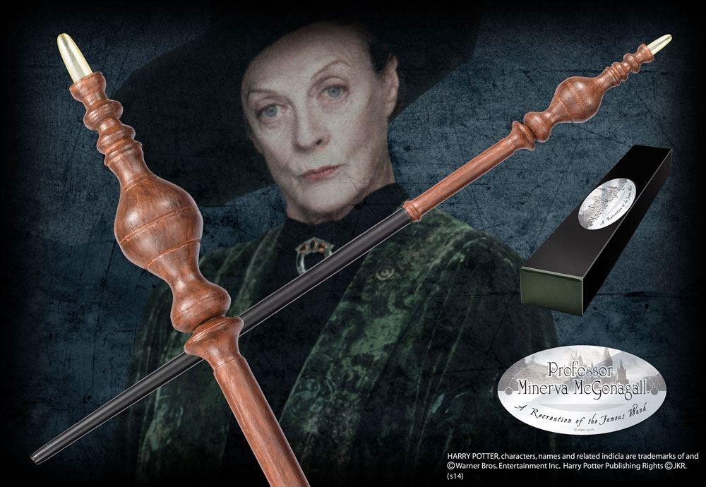 Harry Potter Wand Professor Minerva McGonagall (Character-Edition) - Noble Collection