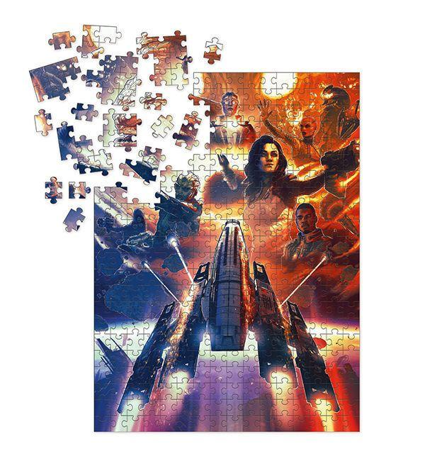 Mass Effect Jigsaw Puzzle Outcasts (1000 pieces) - Dark Horse
