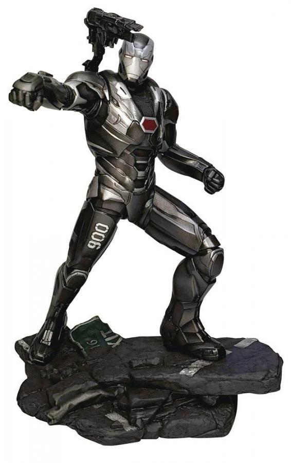 Avengers Endgame: War Machine - Marvel Gallery PVC Statue 23 cm - Diamond Select