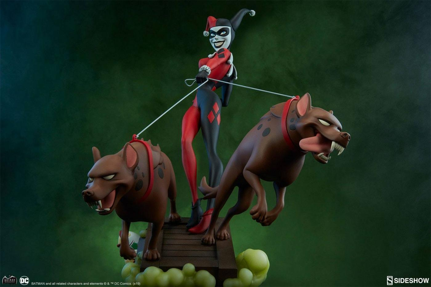 DC Animated Series Collection Statue Harley Quinn 41 cm