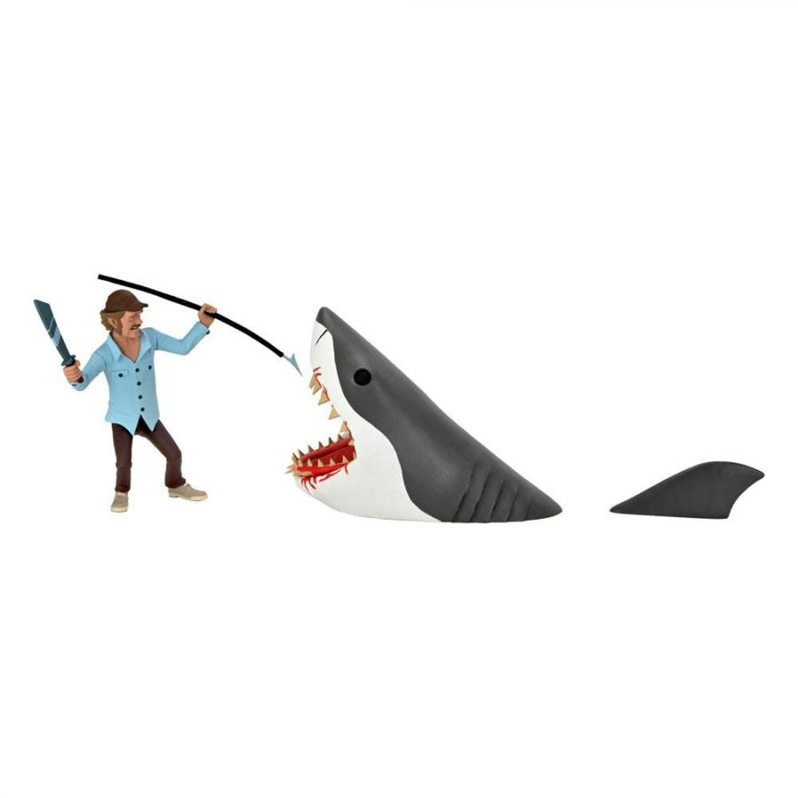 Jaws Action Figures 2-Pack Toony Terrors Jaws & Quint 15 cm - Neca