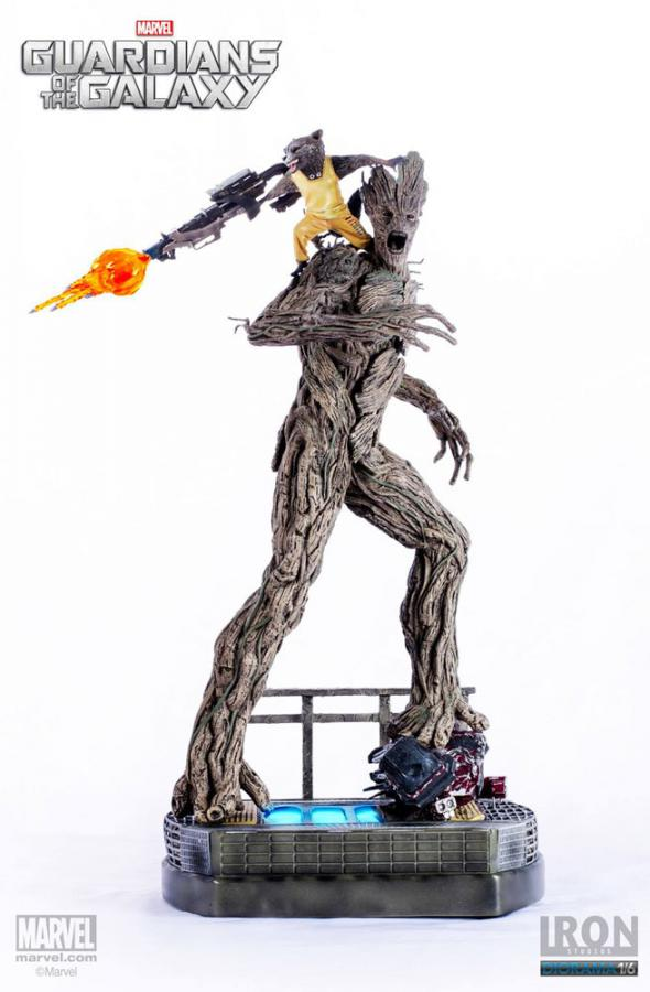 Guardians of the Galaxy 1/6 Rocket & Groot Prison ver.