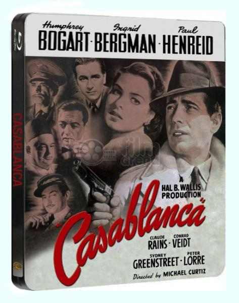 Casablanca Blue-ray Steelbook