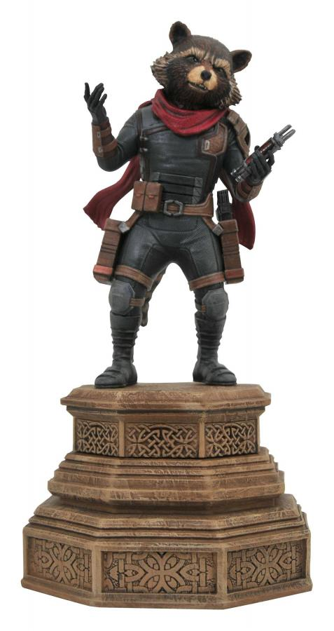 Avengers Endgame: Rocket Raccoon - Marvel Movie Gallery PVC Statue 18 cm - Diamond Select