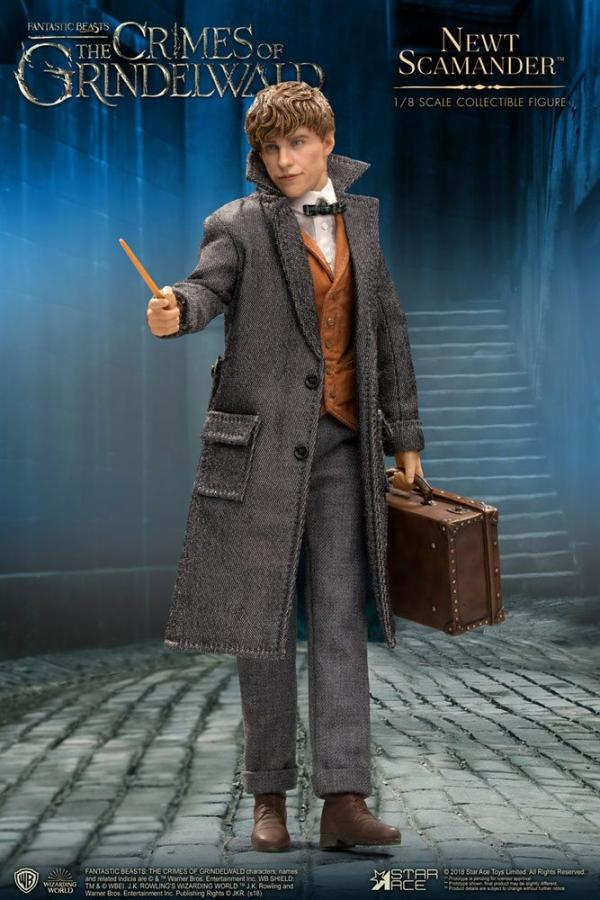 Fantastic Beasts 2: Newt Scamander 1/8 Action Figure - Star Ace Toys