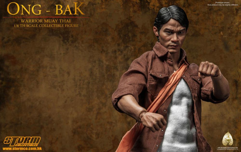 Ong bak 1 6 the thai warrior ting tony jaa 30 cm statuecollectibles