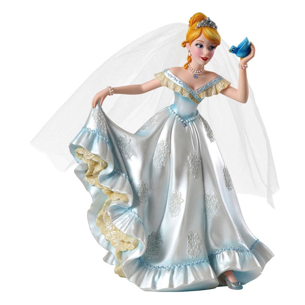 Disney Showcase Cinderella Bride Wedding Figurine 20 cm