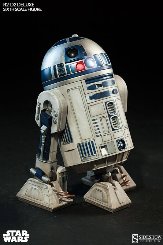 Star Wars Action Figure 1/6 R2-D2 DELUXE 17 cm