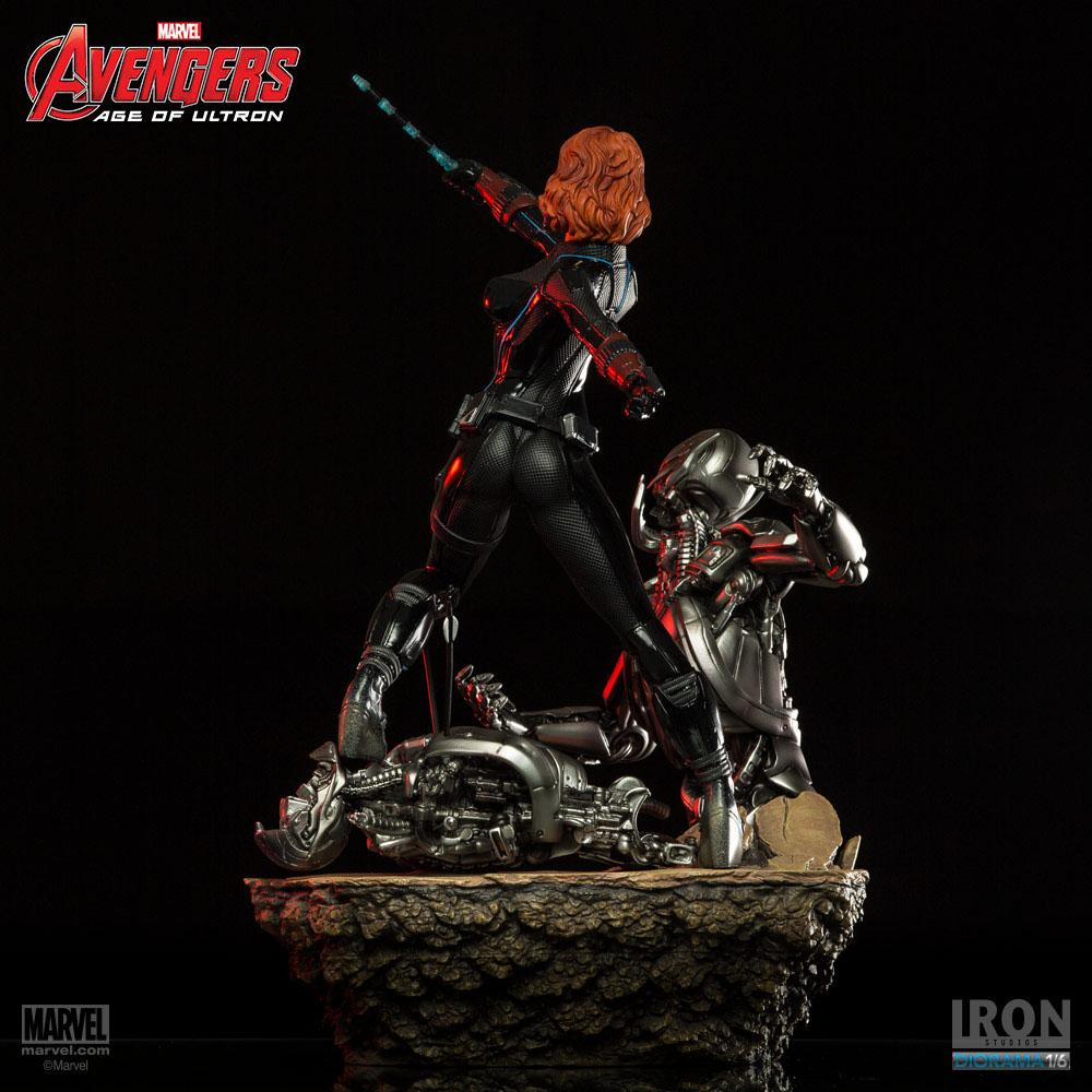 Black Widow Age Ultron: Avengers Age Of Ultron Statue 1/6 Black