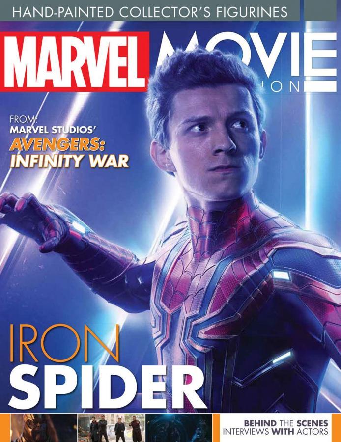 Marvel Movie Collection 1/16 Iron Spider (Spider-Man) 14 cm