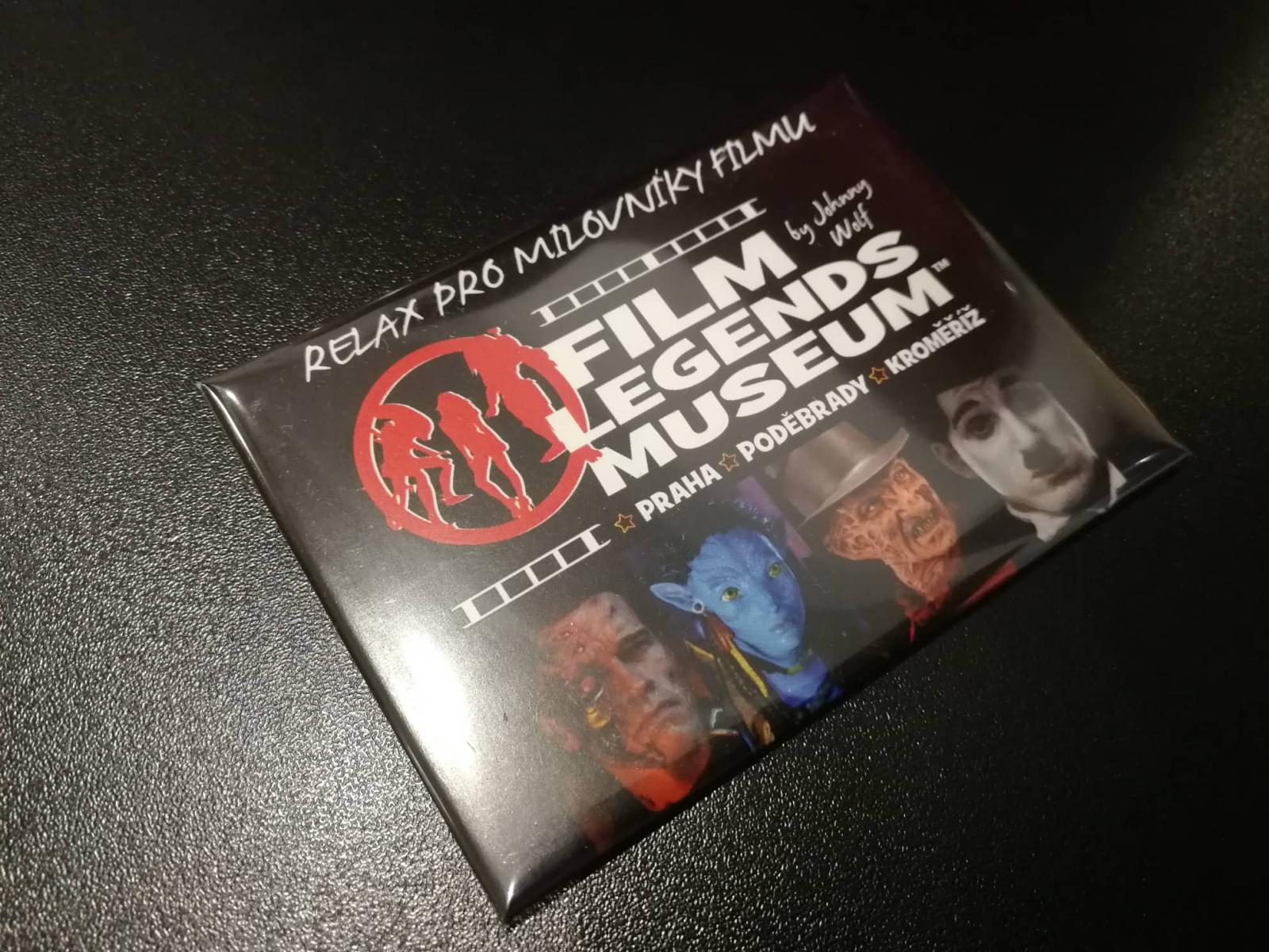 FILM LEGENDS MUSEUM STANDART MAGNET A
