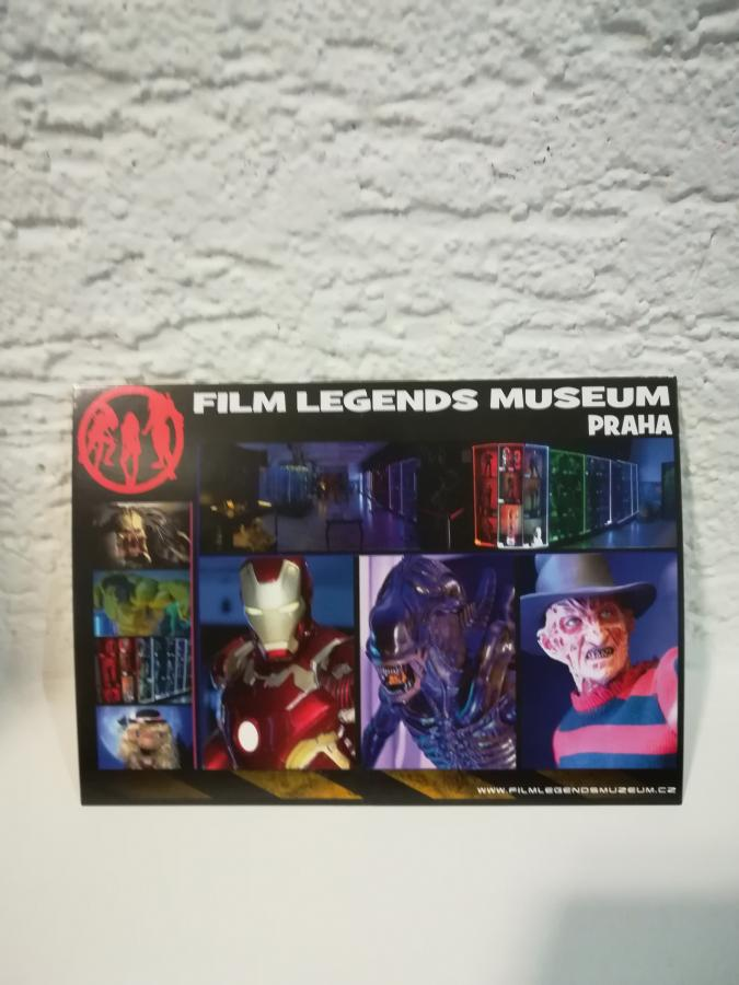 Collectible Film Legends Museum Postcard PRG B