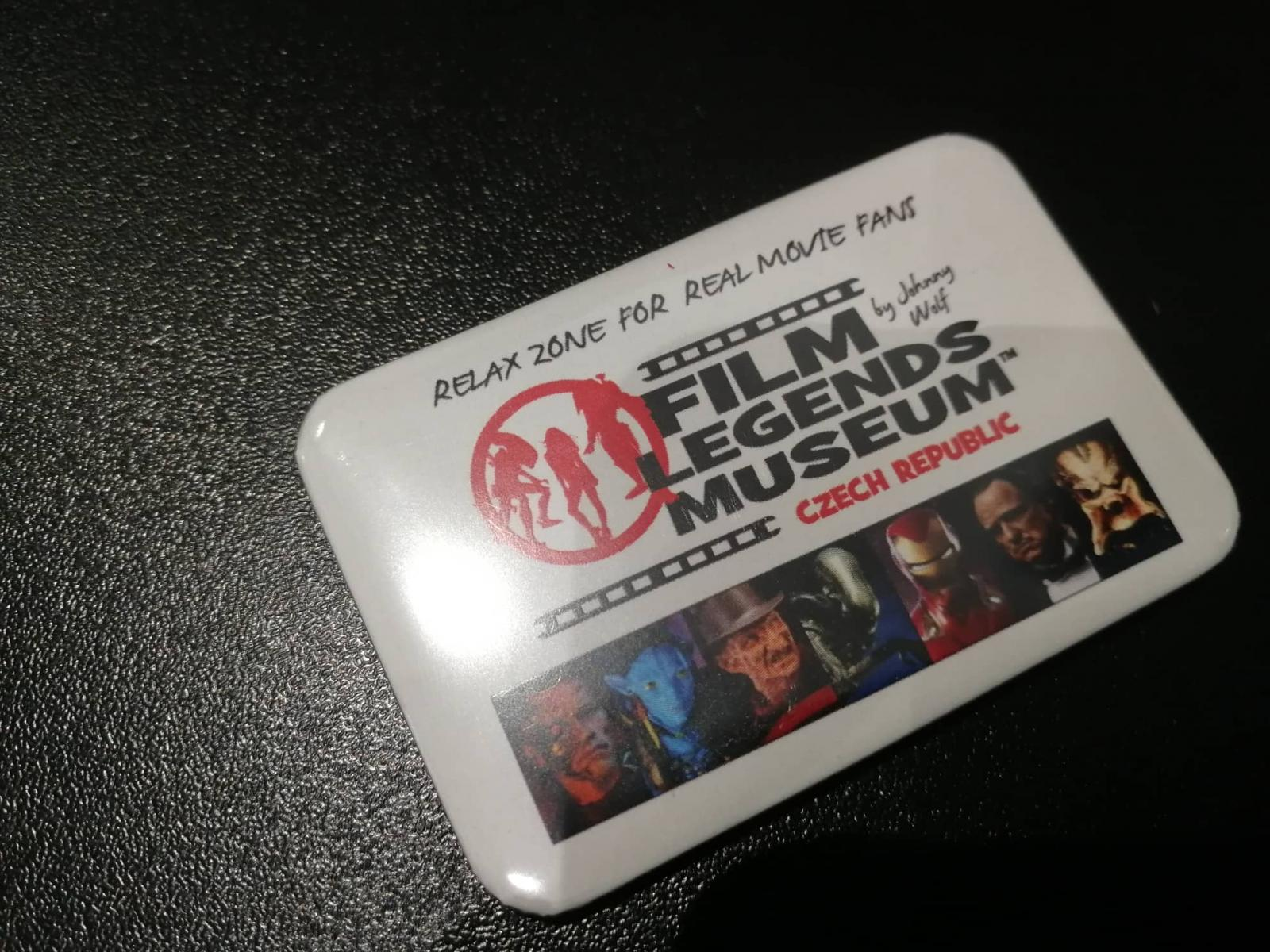 FILM LEGENDS MUSEUM SMALL MAGNET A