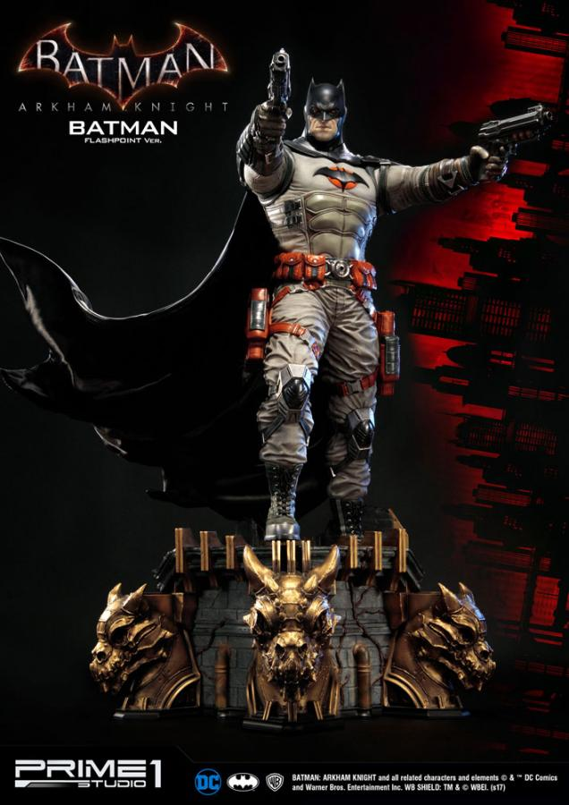 Batman Arkham Knight Statue Batman Flashpoint Ver. 83cm