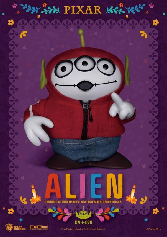 Toy Story:  Alien Remix Miguel (Coco) - Figure 16 cm - Beast Kingdom