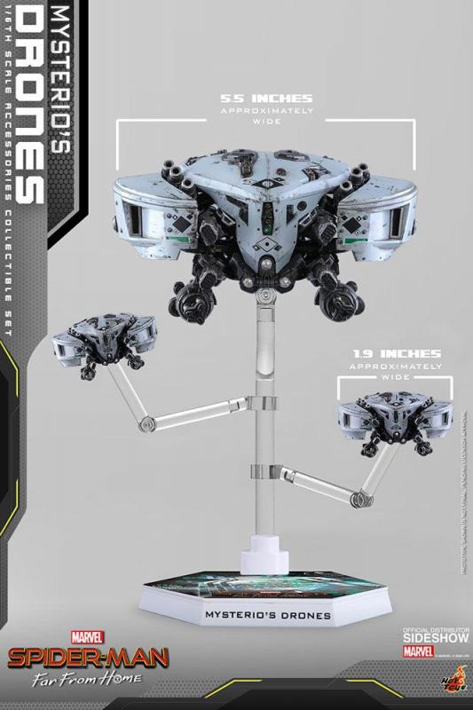 Spider-Man: Far From Home Accessories Collection Series Mysterio's Drones