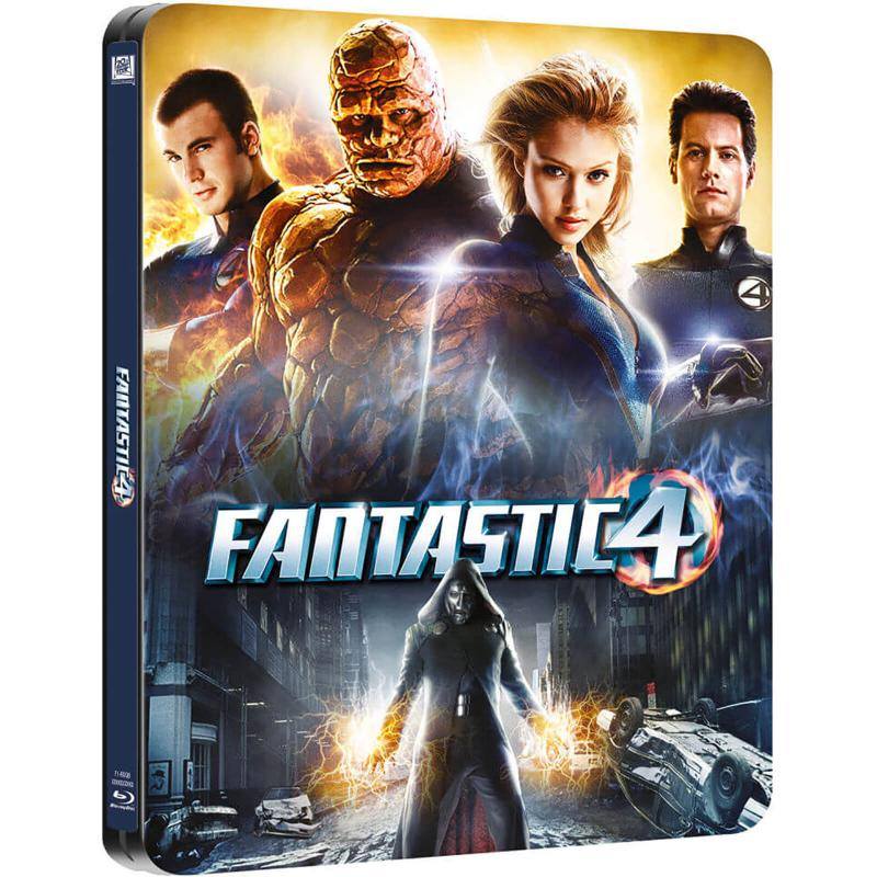 Fantastic 4 Blue-ray Steelbook