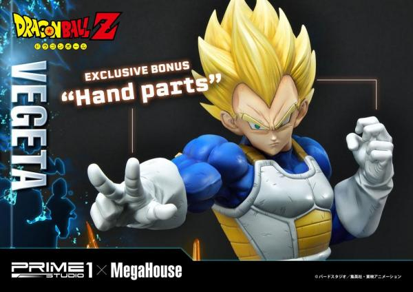 Dragon Ball Z Statue 1/4 Super Saiyan Vegeta Deluxe Version 64 cm