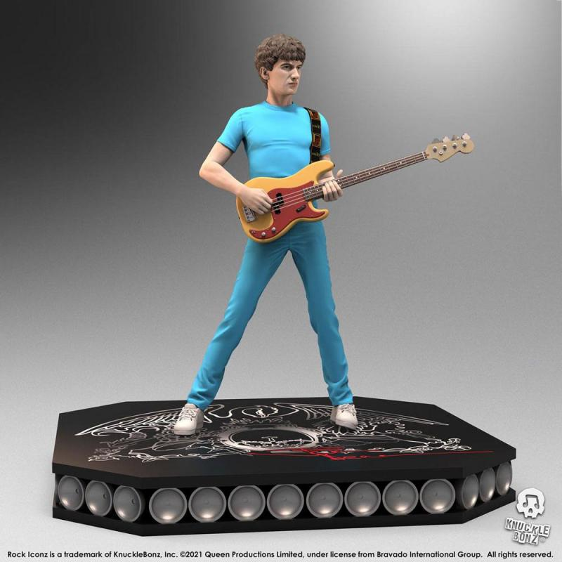 Queen: John Deacon 23 cm Statue - Knucklebonz