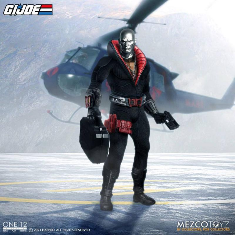 G.I. Joe: Destro 1/12 Action Figure - Mezco Toys