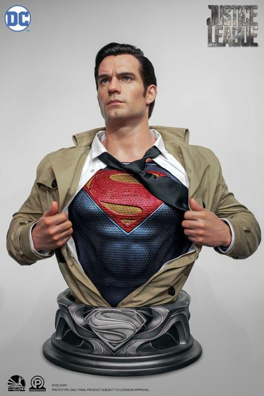 Justice League Life-Size Bust Superman 88 cm