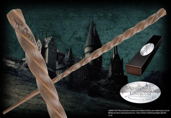 Harry Potter Wand Xenophilius Lovegood (Character-Edition) - Noble Collection