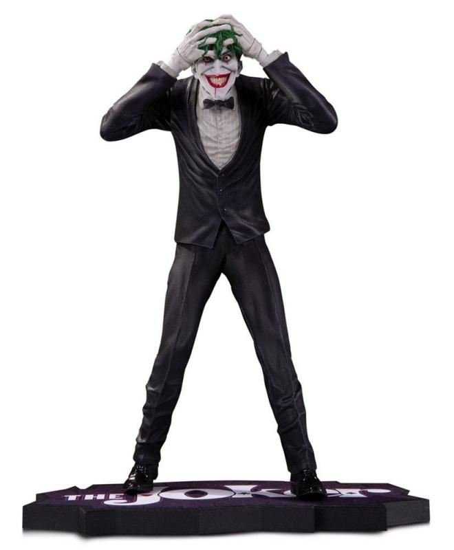 The Joker, Clown Prince of Crime Statue The Joker by Brian Bolland 19 cm