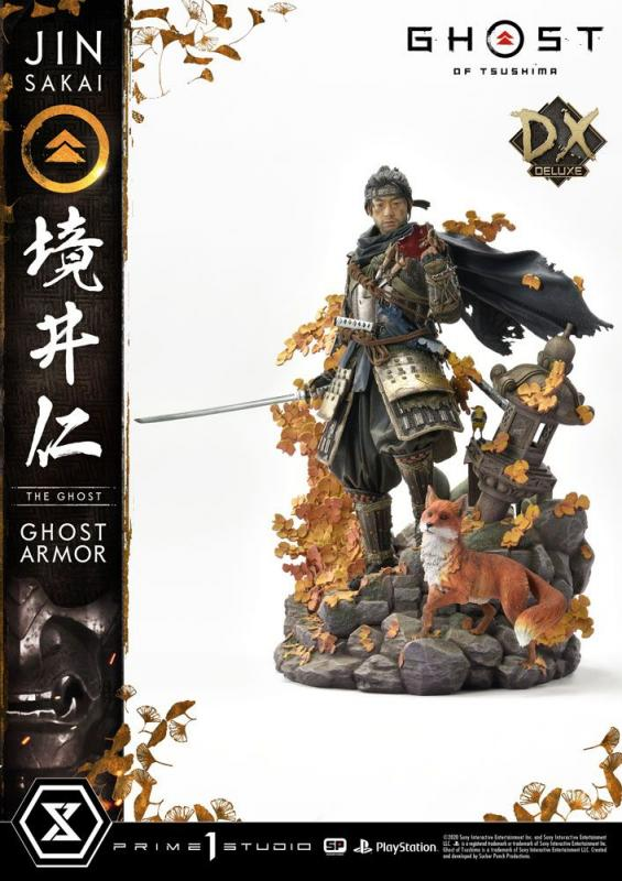 Ghost of Tsushima: Jin Sakai Deluxe Bonus Version - Statue 1/4 - Prime 1 Studio