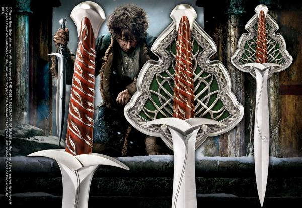 The Hobbit Replica 1/1 The Sting Sword of Bilbo Baggins 56 cm - Noble Collection
