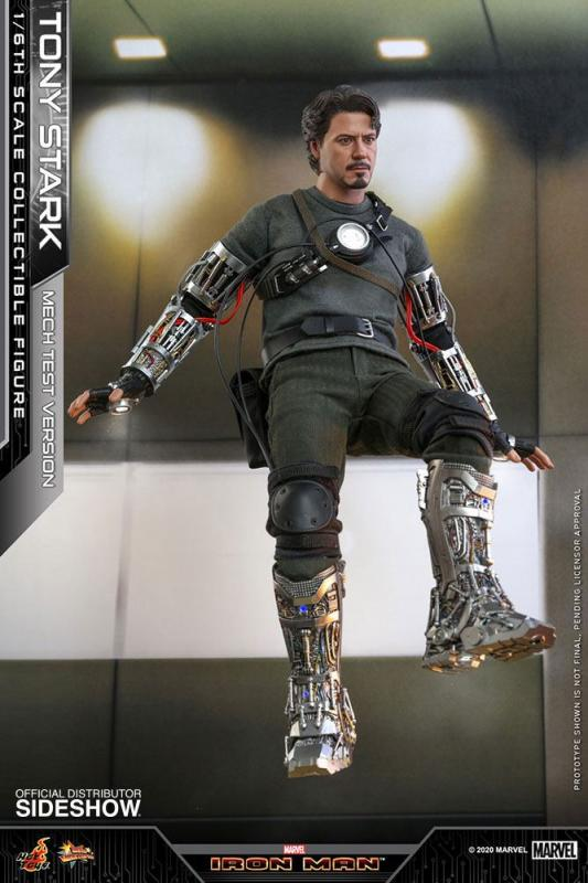 Iron Man Movie Masterpiece Action Figure 1/6 Tony Stark (Mech Test Version) 30 cm