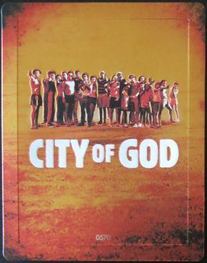 City of God Steelbook Blu - Ray - No CZ