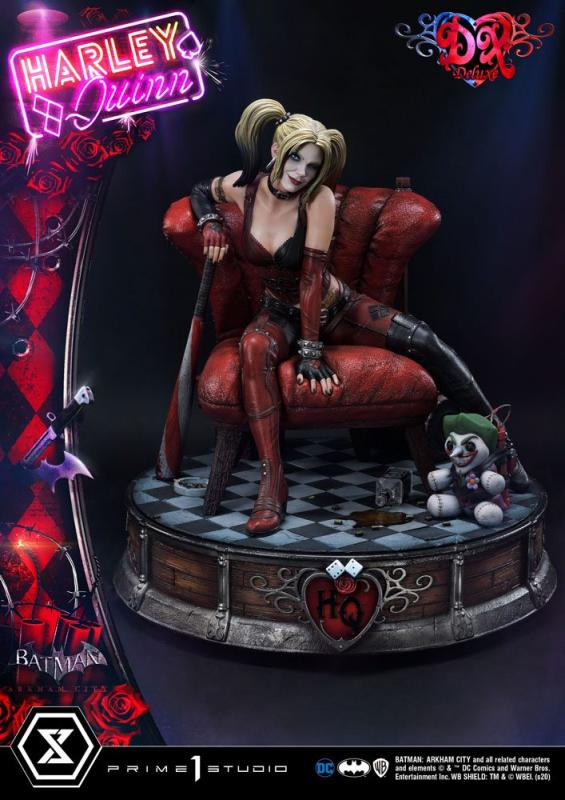 Batman Arkham City Statue 1/3 Harley Quinn Deluxe Bonus Version 58 cm