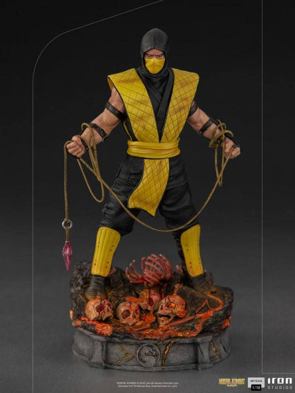 Mortal Kombat: Scorpion 1/10 Art Scale Statuen - Iron Studios