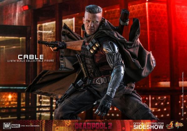 Deadpool 2: Cable - Figure 1/6 - Hot Toys