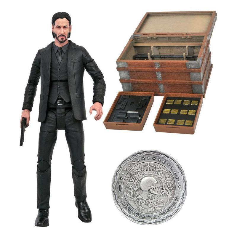 John Wick Deluxe Action Figure Box Set 18 cm