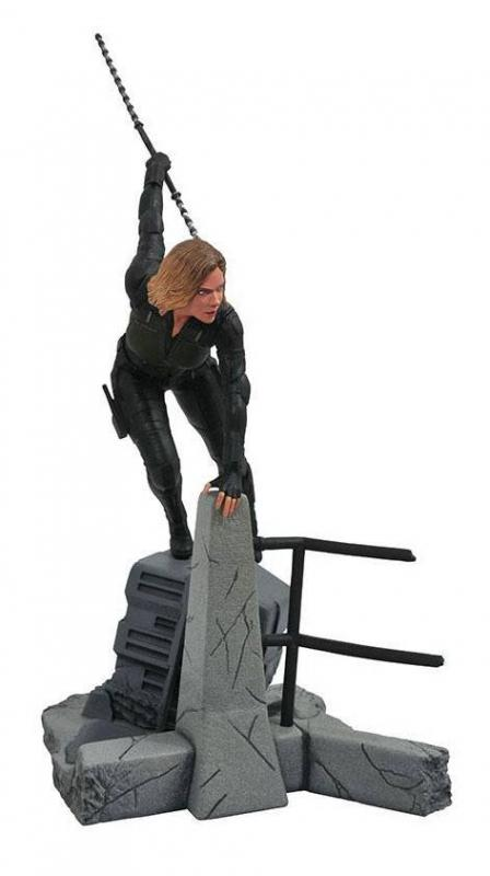 Avengers Infinity War Marvel Gallery PVC Statue Black Widow 23 cm