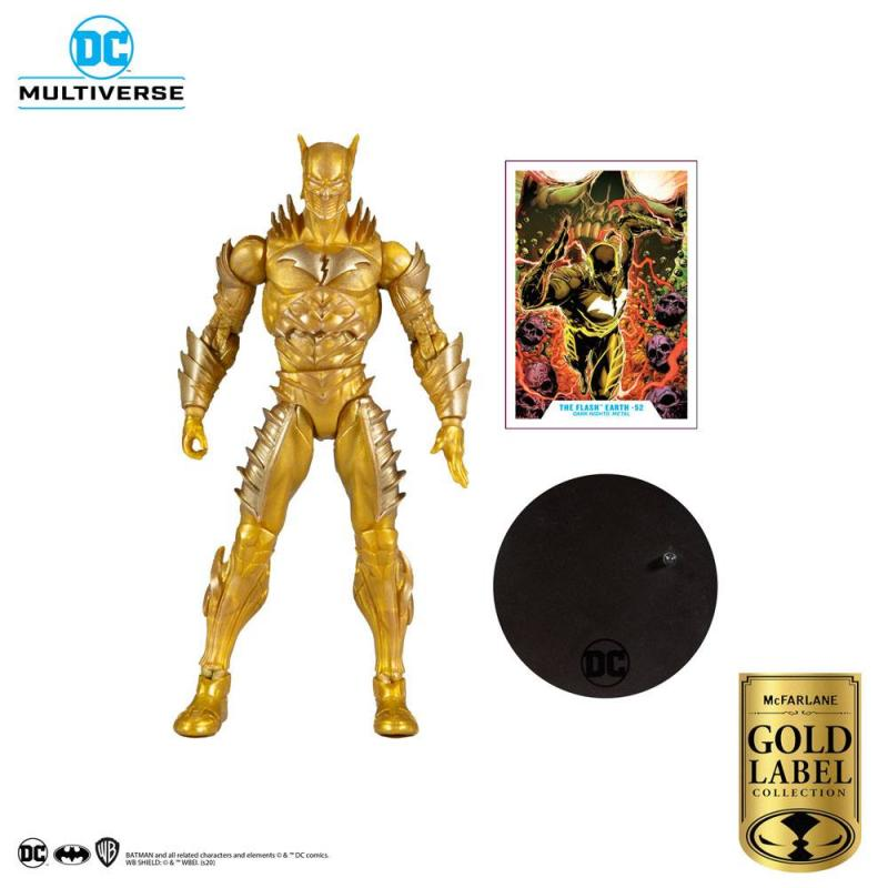 DC Multiverse: Red Death Gold (Earth 52) 18 cm Action Figure - McFarlane Toys