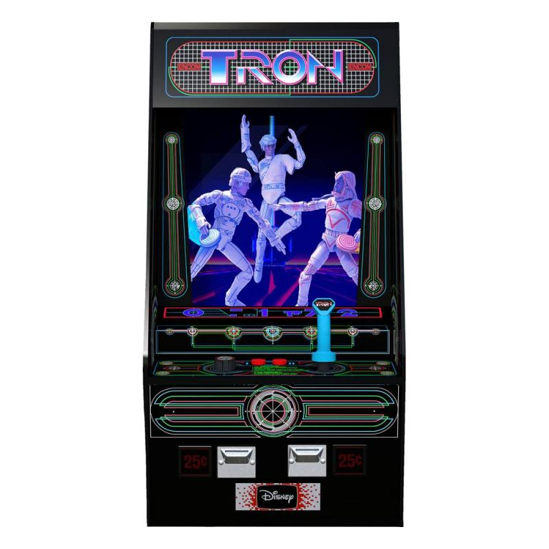Tron Electronic Action Figure Box Set Arcade Style Previews Exclusive