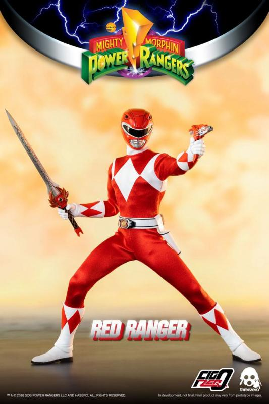 Mighty Morphin Power Rangers: Red Ranger - FigZero  Figure 1/6 - ThreeZero