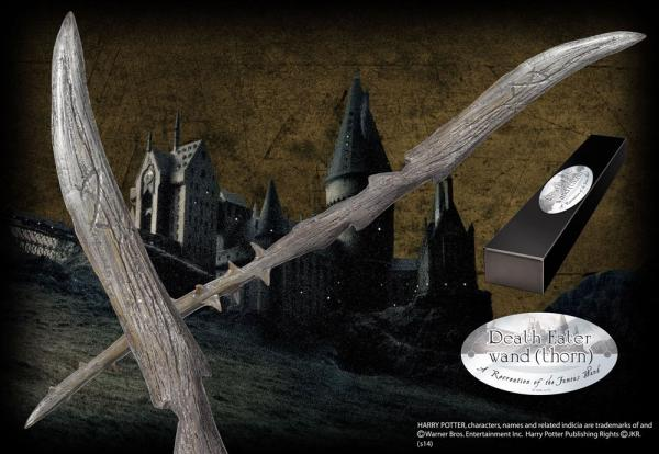Harry Potter Wand Death Eater Version 6 (Character-Edition) - Noble Collection