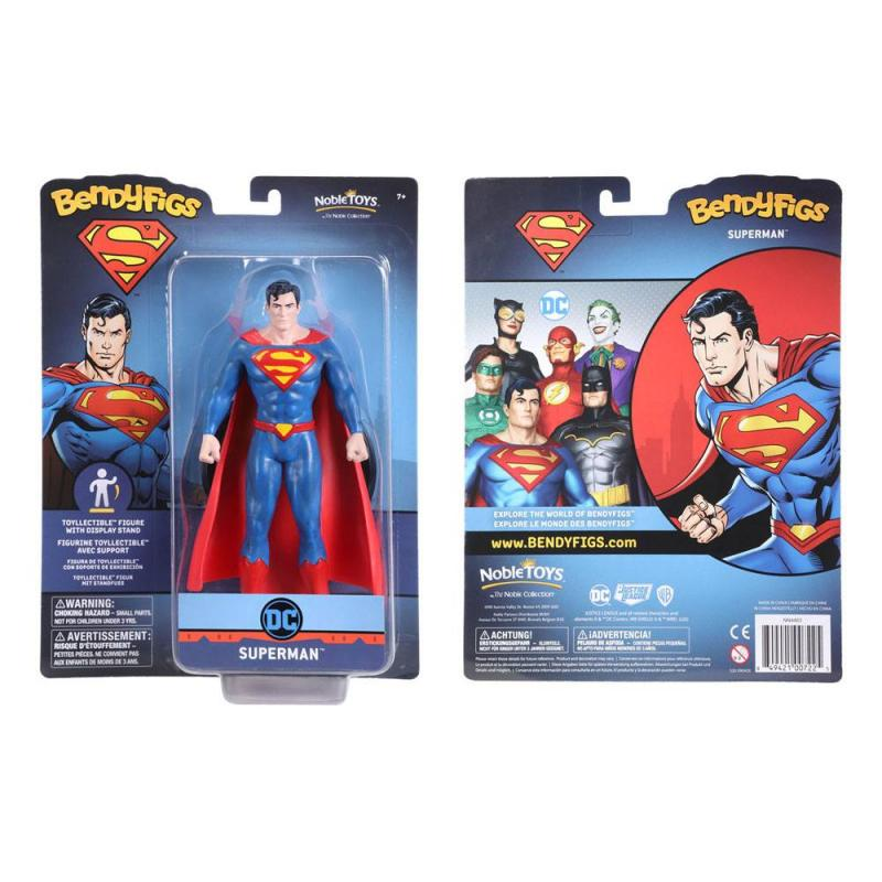 DC Comics: Superman 19 cm Bendable Figure - Noble Collection
