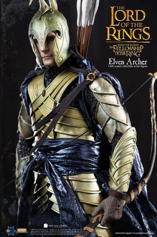 Lord of the Rings: Elven Archer - Figure 1/6 - Asmus Toys