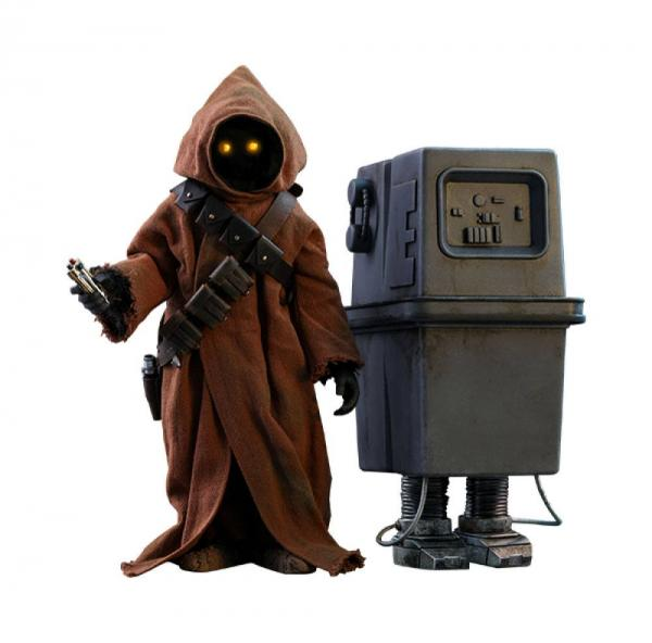 Star Wars Episode IV Movie Masterpiece Action Figure 2-Pack 1/6 Jawa & EG-6 Power Droid 18