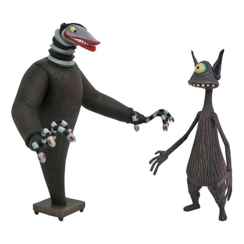 Nightmare before Christmas: Creature under the Stairs & Cyclops - Figures 18 cm - Diamond