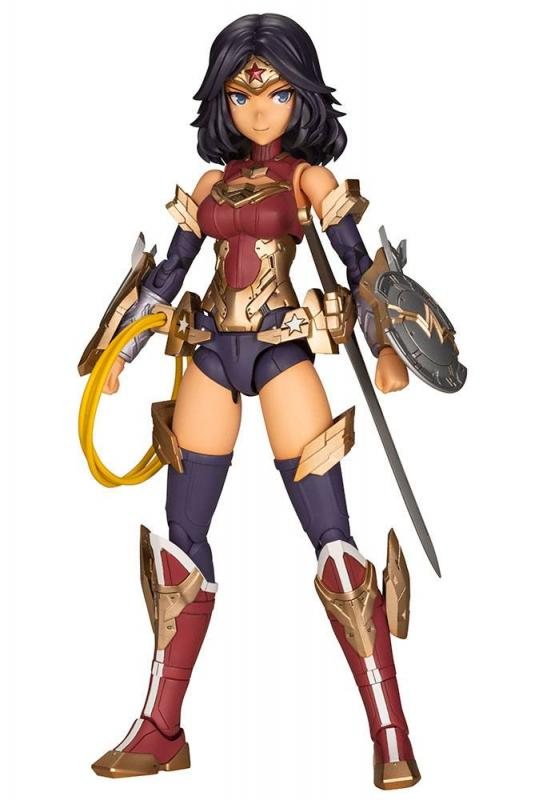 DC Comics Cross Frame Girl Plastic Model Kit Wonder Woman Fumikane Shimada Ver. 16 cm