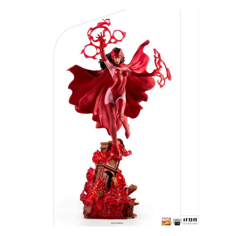 Marvel Comics: Scarlet Witch 1/10 BDS Art Scale Statue - Iron Studios