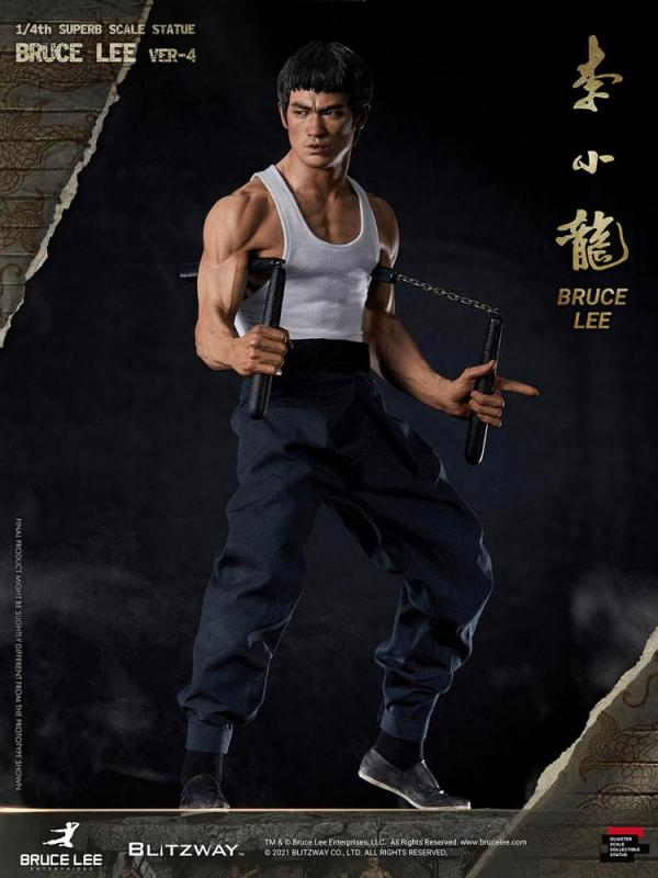 Bruce Lee 1/4 Hybrid Type Superb Statue  - Blitzway
