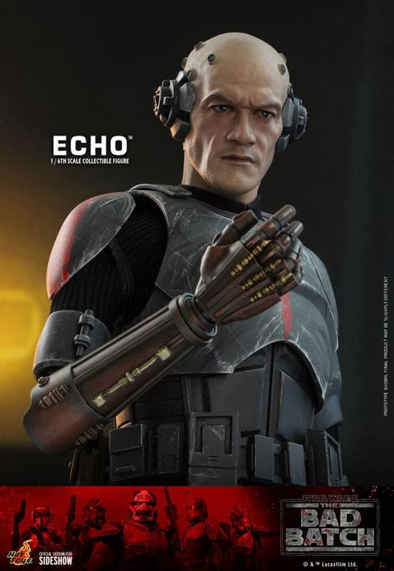 Star Wars The Bad Batch: Echo 1/6 Action Figures - Hot Toys